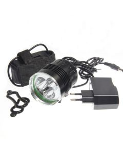 SKY RAY 3T6 sykkel lys 3xCree XM-L T6 3800 lumen 4 modus LED sykkel frontlykter
