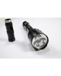 TrustFire TR-3T6 3 * (CREE XM-L T6) 3800 lumen LED lommelykt (10 stk)