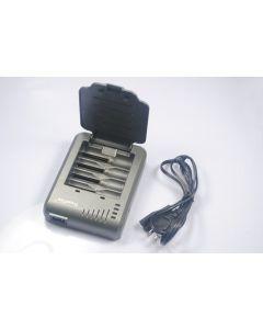 Trustfire St - 003P 4 oppladbart batterilader For 10440/14500/16340/17670/18500/18650