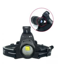 CREE XHP70 30W frontlys Led hodelykt 6800lm zoom hodelykt