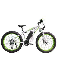 SMLRO 26 tommer elektrisk fjell sykkel fett ebike 21speed snø elektrisk sykkel 48V litium batteri 500W motor 4.0 fett Hybrid sykkel