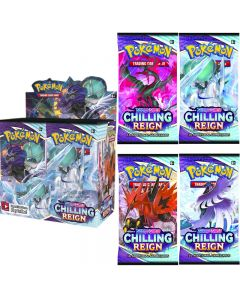 360stk Pokémon TCG: Sword & Shield Chilling Reign Booster Display Box Collection Card