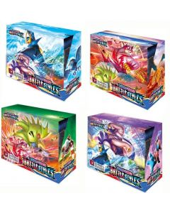 2021 NYE 4x360Pcs Pokemon TCG: Sverd &Skjold Kamp stiler Booster Boks Trading KortSpill Samling Leker
