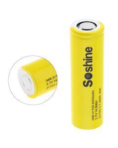 Soshine IMR 21700 batteri 3,7 v 14.8WH 4000mAh Li-ion oppladbart batteri