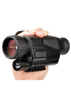 5 x 40 infrarød natt visjon natt oppfatning infrarød Digital omfang for jakt teleskopet lang rekkevidde med innebygd kamera