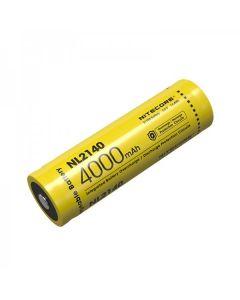 NITECORE NL2140 4000mAh 3.6V 14.4Wh 21700 Li-ion oppladbart batteri