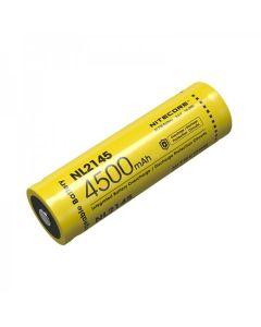 NITECORE NL2145 4500mAh 3.6V 16.2Wh 21700 Li-ion oppladbart batteri