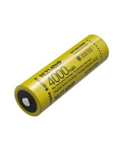 NITECORE NL2140HP 4000mAh 3.6V 14.4Wh 21700 Li-ion oppladbart batteri