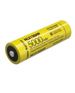 NITECORE NL2150HP 5000mAh 3.6V 18Wh 21700 Li-ion oppladbart batteri