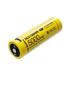 NITECORE NL2150HPR 5000mAh 3.6V 18Wh 21700 USB-C Li-ion oppladbart batteri