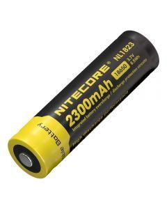 Nitecore 18650 NL1823 2300 3.7v 8.5Wh Li-ion oppladbart batteri