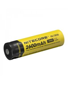 Nitecore 18650 NL1826 2600 3.7v 9.6Wh Li-ion oppladbart batteri