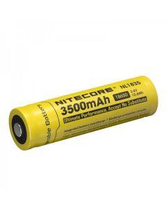 Nitecore 18650 NL1835 3500 3.6v .6Wh Li-ion oppladbart batteri