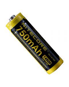 NITECORE NL1475R 750mAh14500 3.6V 2.7Wh AA Micro-USB oppladbart Li-ion batteri