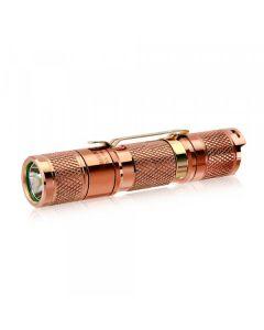 Lumintop Verktøy AA 2.0 Kobber Cree XP-L HD LED 650 lumen AA/14500 EDC Lommelykt