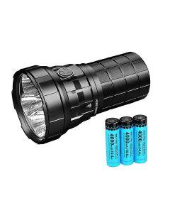 IMALENT R60C 38 meter USB LED lommelykt 18000 lumen kraftig lys vanntett med 21700 batteri