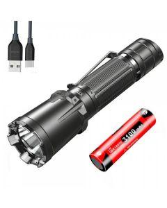 Klarus XT GT Pro CREE XHP35 HD 6500K 2200Lumens USB Type-C oppladbar LED lommelykt