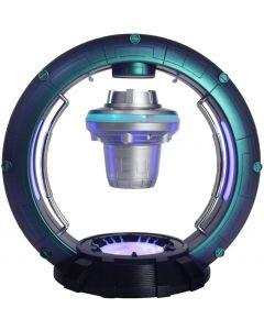 Magnetisk levitasjonshøyttaler, rotasjonsflytende høyttaler Bærbar Bluetooth -høyttaler Kul kreativ kunstdesign Levitating Bluetooth -høyttaler