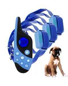 2021 ny 500m elektrisk hund trening krage kjæledyr fjernkontroll vanntett oppladbar med LCD-skjerm for alle størrelser støt vibrasjon lyd