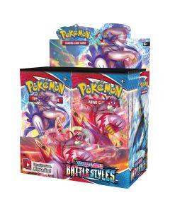 NYE 360pcs Pokémon TCG: Sverd & Skjold-Battle Stiler Ermet Booster Pack