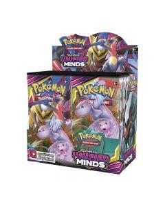 Pokemon TCG: Enhetlige sinn forseglet boosterboks samlekort 36 pakker