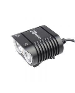 UniqueFire HD-016 2 * Cree XM-L2 4 modi 1800 lumen LED sykkel lys sykkel foran lys-svart