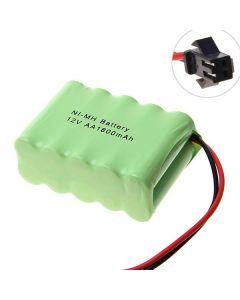 Ni-MH AA Battey V 1800mAh SM Plug batteripakke