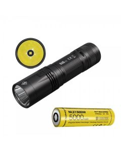 Nitecore R40 V2 CREE XP-L2 V6 LED 1200 lumen USB oppladbar 21700 batteri lommelykt