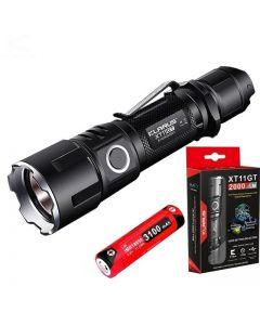 KLARUS XT11GT CREE XPH35 HD E4 2000 Lumen LED lommelykt