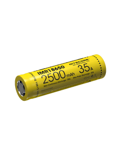 Nitecore IMR18650 2500 mAh 35A oppladbart batteri-1pc