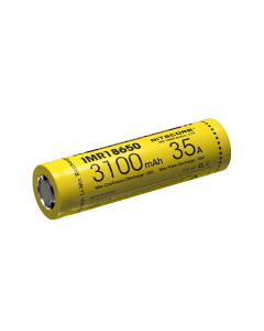 Nitecore IMR18650 3100mAh 35A oppladbart batteri-1pc