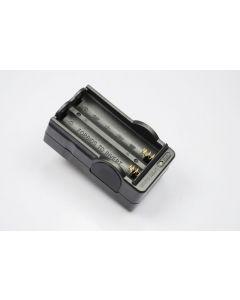 OEM Digital batterilader til 2 x 18650 oppladbare batterier
