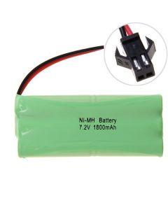 Ni-MH AA 1800mah 7.2V stor SM Plug batteripakke