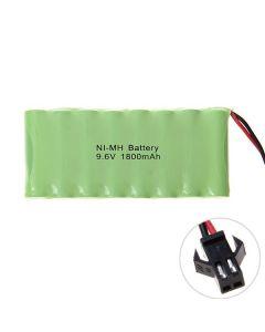 Ni-MH AA 9.6V 1800mAh SM plugg batteripakke