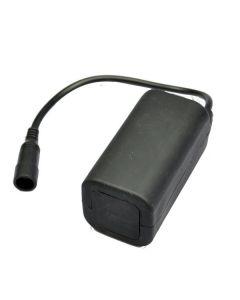 Vanntett 8.4V 4 * 18650 oppladbare batteripakke for sykkellys