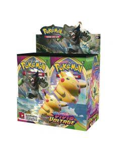 360pcs Pokemones TCG: Sverd & skjold Levende Spenning Booster Box Engelsk Spill Samlekort-36 Pakker