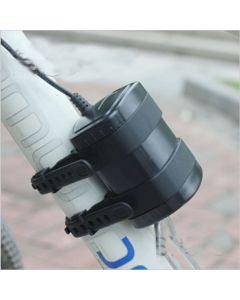 Vanntett 8.4V 4 * 18650 Rechargeable Akkumulator Emballere For sykkel lys