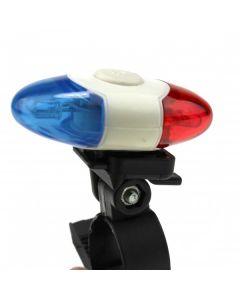 4 LED super Bright sikkerhetslys XI-908 4 moduser sykkel baklys