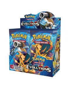 Pokemon TCG: XY Evolutions forseglet Booster Box Collectible Samlekort 36 Pakker
