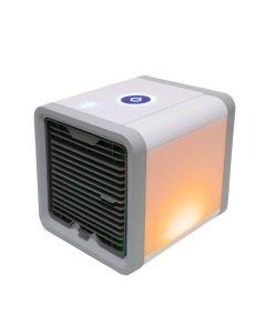 USB mini bærbar klimaanlegg luftfukter purifier 7 farger lys stasjonær luft kjølevifte luftkjøler vifte for kontor hjem