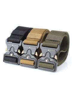 ENNIU taktisk belter Nylon belte med metall spenne justerbar Heavy Duty trening midje belte jakt tilbehør