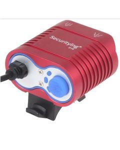 UniqueFire HD-016 2 * Cree XM-L2 4 modi 1800 lumen LED sykkel lys sykkel foran lys-rød