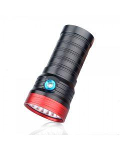 Sky Ray S 8 18T6 18xCree XM-L T6 15000-Lumen USB oppladbar LED lommelykt lommelykt