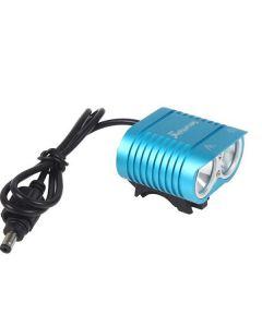 UniqueFire HD-016 2 * Cree XM-L2 4 modi 1800 lumen LED sykkel lys sykkel foran lys-blå