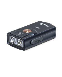 Fenix E03R 260 lumen LED EDC USB oppladbar MINI nøkkel lys lommelykt