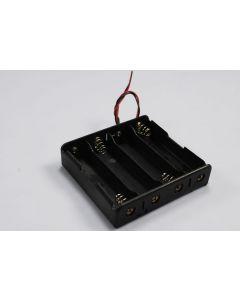DIY batteriboksen for 4 * 18650 batteri