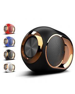 Golden Egg Bluetooth-høyttaler, bærbar high-end trådløs høyttaler, 108 dB stereo Bluetooth Speaker Mini Bluetooth Player, Super Sterk Subwoofer Speaker