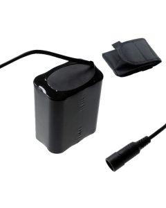 5521 DC grensesnittet 8.4V 6 x 18650 13200mAh sykkel frontlys batteri for LED sykkel lys