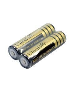 Ultrafire beskyttet BRC 4000mAh 3.7V 18650 Li-ion oppladbart batteri (1 par)