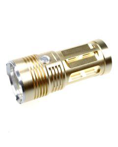EternalFire kongen 3T6 3 * Cree XM-L T6 LED lommelykt 3000 lumen 3 moduser LED lommelykt-Glod-lys enhet bare